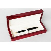 shiny wooden pen box