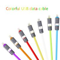 Hiqh Quality 2 in 1 data cable Fast Charging