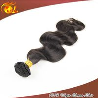 Hot sell virgin remy brazilian human hair extension