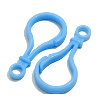 Colorful Plastic KeyChain Hook Jewelry Accessories plastic Bulb buckle Keychain thumbnail image