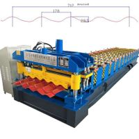 Roof Sheet Glazed Tiles Roll Forming machine/glazed profile forming machinery thumbnail image