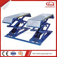 CE Certification and Four Cylinders Hydraulic Lift Type scissor car lift thumbnail image
