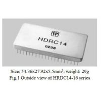 HDRC14-16 Series Digital to Synchro/ Resolver Converters