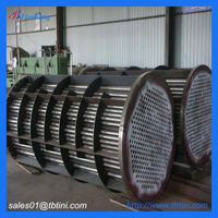 gr2 titanium pipe coil for chemical equipment in Chlor-Alkali