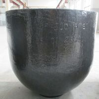 High temperature Casting graphite crucible for melting copper thumbnail image