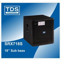 SRX718S-18 inch Pro Audio System 600W Power subwoofer-With Mid-sized Event Management