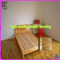 plastic floor covering /luxury vinyl flooring/health pvc flooring