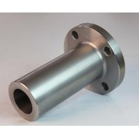 Stainless steel long neck flange.