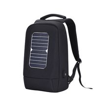 15.6 inch Outdoor Multifunction Solar Panel Power Business Travel Laptop Breathable Backpack