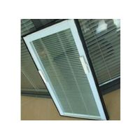 Tilt & Lift -Magnetically Operated Blinds Closed Together To The Top
