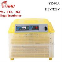 52 $ mini 96 poultry egg incubator hatching machine CE passed YZ-96