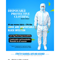CE Certificate Factory Supply PPE Protective Clothing Disposable Coverall thumbnail image