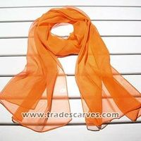 whole colored georgette long silk scarves 015