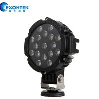 LED work light 51W Motorcycle JEEP SUV working headlight for truck tractor agricultural machinery