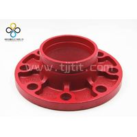 China CCC FM UL ductile iron grooved fittings