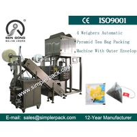 Pyramid Scented Tea Bag Packing Machine Nylon Mesh Made in China