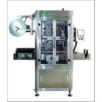 high quality shrink sleeve applicator PM-200 P bottle mouth trapping label  machine