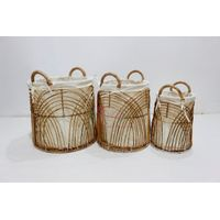 Best selling rattan basket for home furniture - BH2382D-3NA thumbnail image
