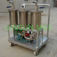 Jl Series Portable Oil Purifier/ Oil Filtering Unit with Three Filter Elements
