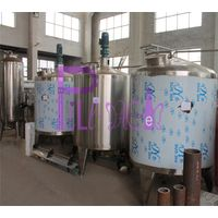 Non heating full closed juice blending tank in stainless steel 304 thumbnail image