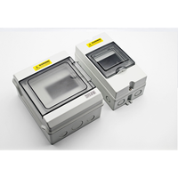 Waterproof plastic distribution boxes