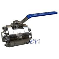 High Pressure Forged SS 316 Lever Operated Floating Ball Valve thumbnail image