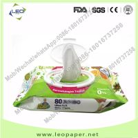 Soft Touch Alcohol Free Disinfecting Single Sachet Baby Cleaning Wet Water Wipes factory in China