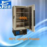 Minus 80 degree ultra low temperature upright freezer 400 liters thumbnail image