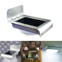 Outdoor Solar LED Garden Wall Sensor Light