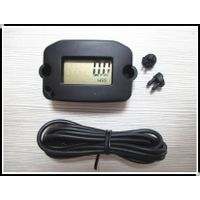 LCD Digital Inductive Hour Meter Record MAX RPM Tachometer for Jet ski,Motorcycle,Snowmobile,lawn mo