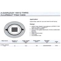 Fiber Optical Cable A-D(SR)(Z)2Y 18X12 TWRS