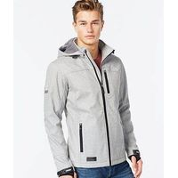Hooded sports textured Polar fleece Jacket