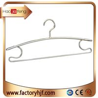 HJF-ZC Unique Original Anti slip Light Weight Durable Gold Metal Aluminum coat hangers for Clothes