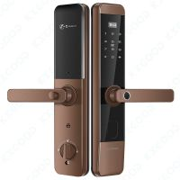 Smart digital hand finger print door lock KXG-F1