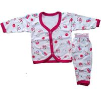 Infant's Printed Clothing Set