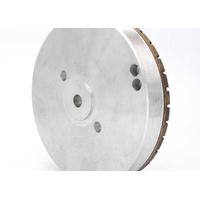 Full segmented diamond grinding wheel for glass edging thumbnail image