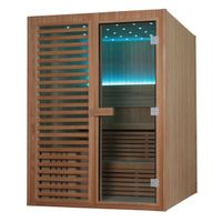Solid Wood Sauna Room For House