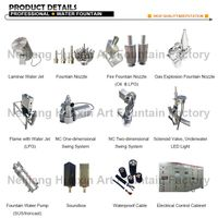 Musical Dancing Water Fountain Jet Nozzles Heads thumbnail image