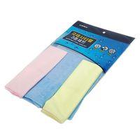 Microfiber towel three set