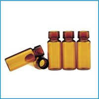 Injection glass bottle