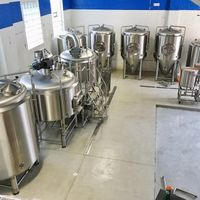 500L Complete Craft Beer Brewing Machinery thumbnail image