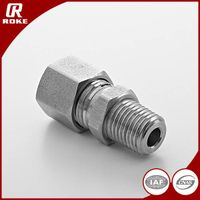 hydraulic stainless steel carbon steel ss 316 304 hose fittings