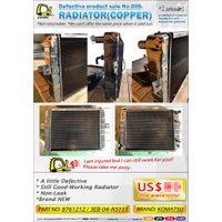 Cosmic Forklift Parts Defective product sale No.006-RADIATOR(COPPER) thumbnail image