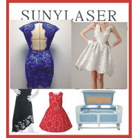 Newest Girls Party Dresses Laser Cutting Machine 1200X800mm
