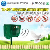 Ultrasonic Bird Instrument Solar Pest Repeller