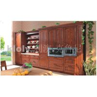 Sicilia--Solid wood kitchen cabinets with ash wood doors