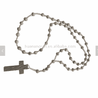 Hot sell religious wooden small rosary beads catholic with crucifix