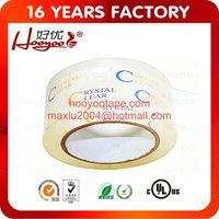 crystal bopp adhesive tape