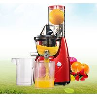 Household slow juicer, kitchen Juice extractor, whole fruit masticating smoothie maker