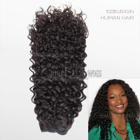 100% curly virgin hair